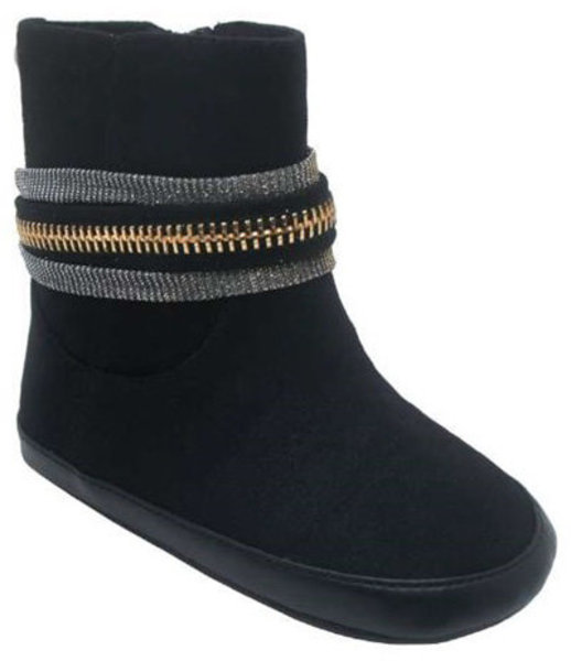 View larger image of Ela Baby Boot Black Size 3