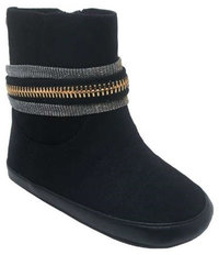 Ela Baby Boot Black Size 3