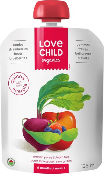 View larger image of Super Blend Pouch - Apples, Strawberries, Beets, Blueberries