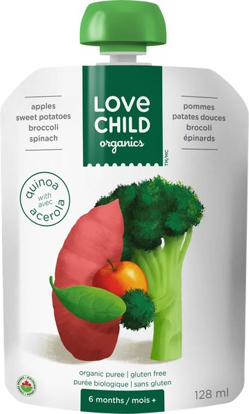 View larger image of Super Blend Pouch-Apples, Sweet Potatoes, Broccoli, Spinach