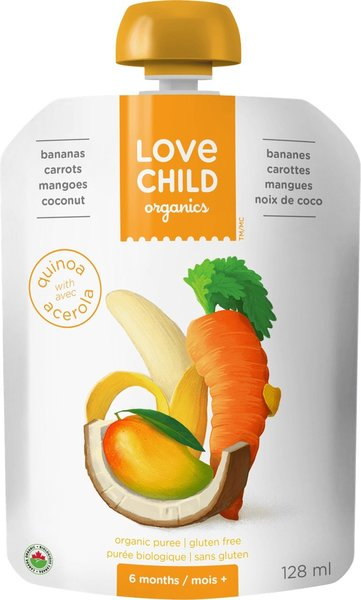 View larger image of Super Blend Pouch - Bananas, Carrots, Mangoes, Coconut