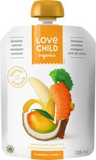Super Blend Pouch - Bananas, Carrots, Mangoes, Coconut