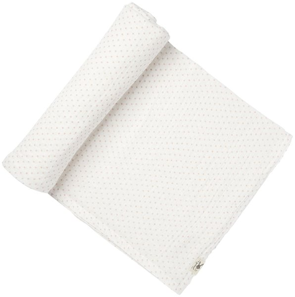 View larger image of Swaddle Pink Pin Dot