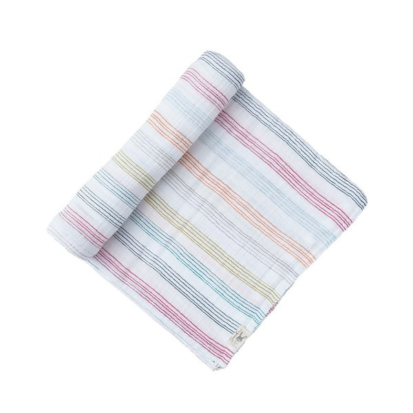 View larger image of Swaddle - Rainbow Stripe