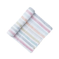 Swaddle - Rainbow Stripe