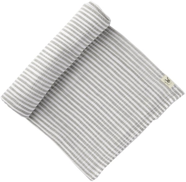 View larger image of Swaddle Grey Stripe