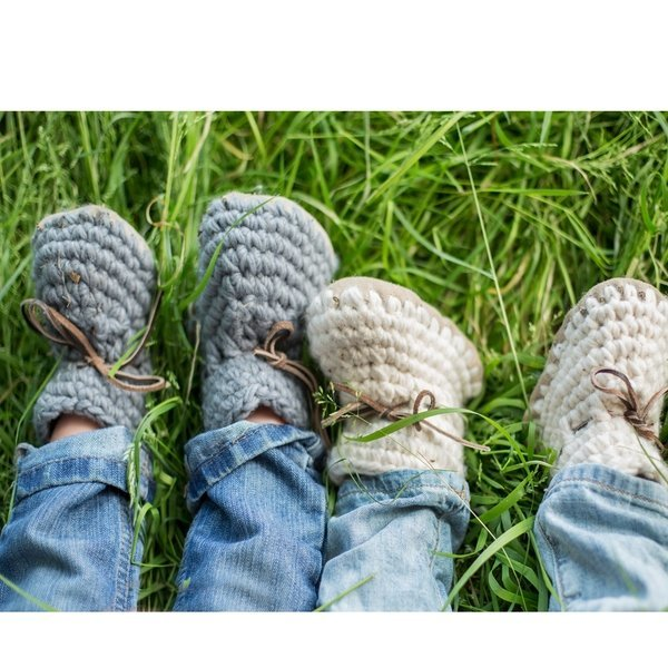 View larger image of Sweater Moccs Grey
