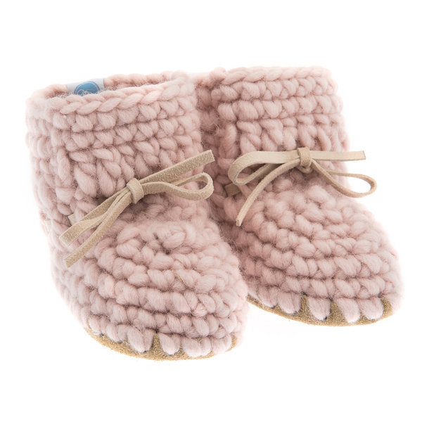 View larger image of Sweater Moccs Pink