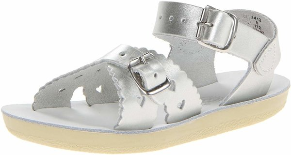 View larger image of Sweetheart Toddler Sandal - Silver