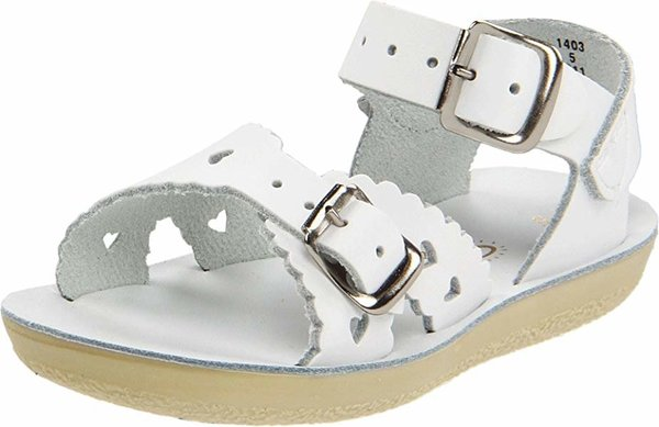 View larger image of Sweetheart Toddler Sandal - White