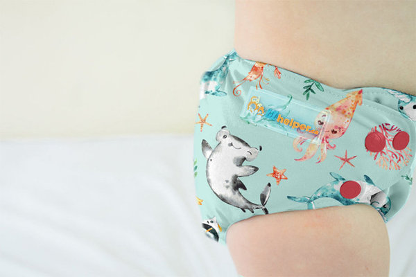 View larger image of Swim Diaper - Narwhals