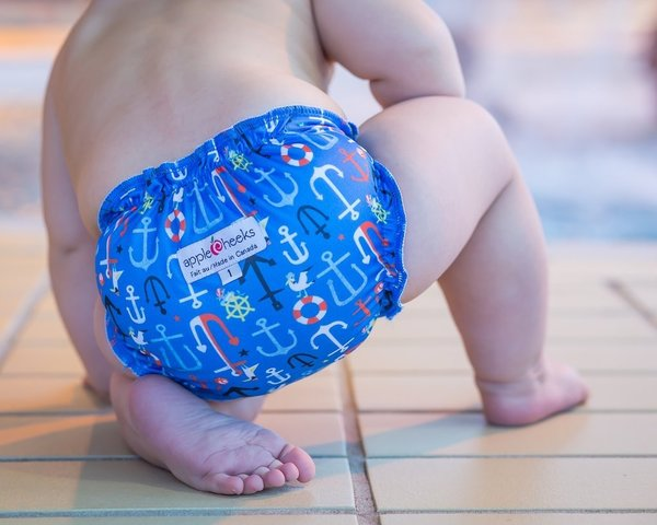 View larger image of Swim Diaper - Anchored