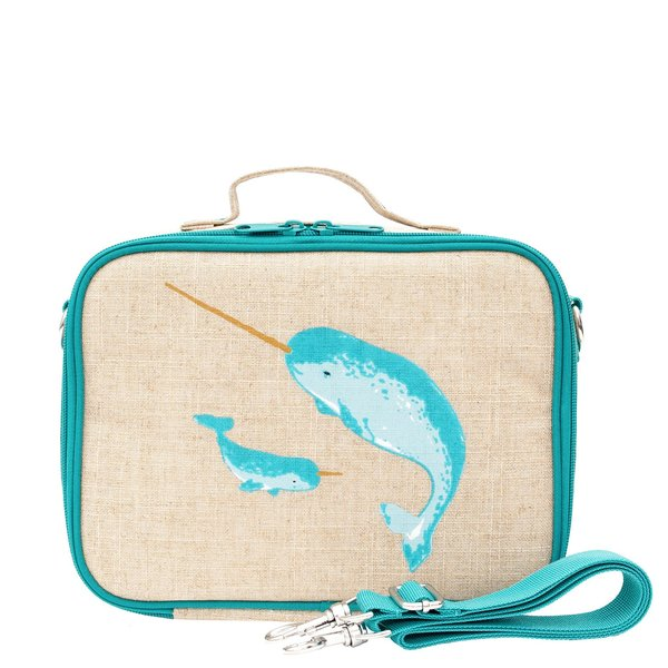 View larger image of Teal Narwhal Lunch Box