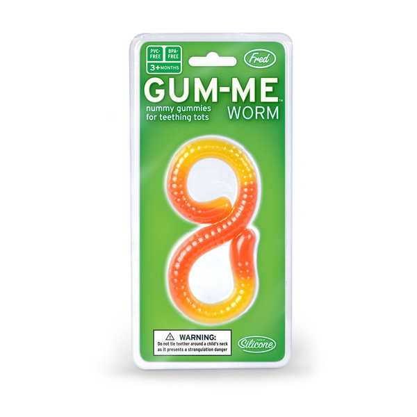 View larger image of Teether - GumMeWorm