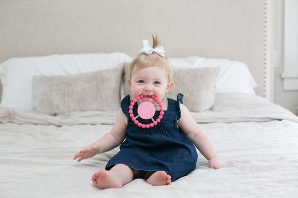 View larger image of Silicone Teether - You Go Girl