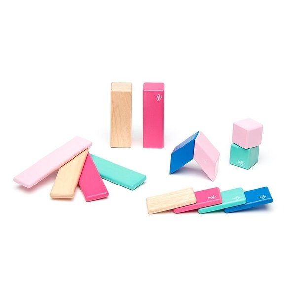 View larger image of 14-Piece Magnetic Wooden Blocks Set