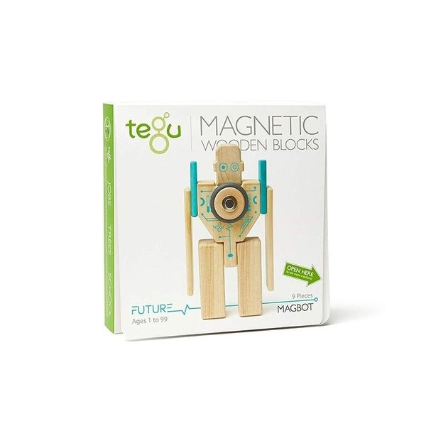 View larger image of Magnetic Wooden Blocks Set - Magbot