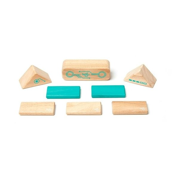 View larger image of Magnetic Wooden Blocks Set - Robo