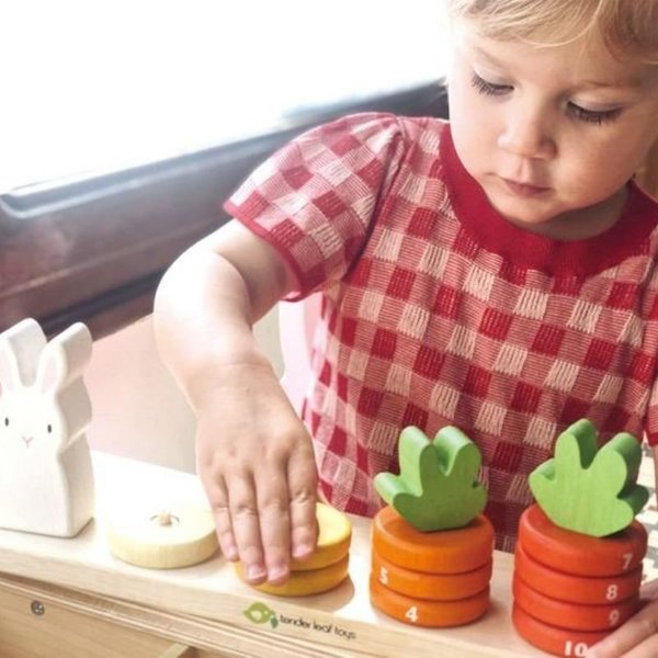 View larger image of Counting Carrots Stacking Game