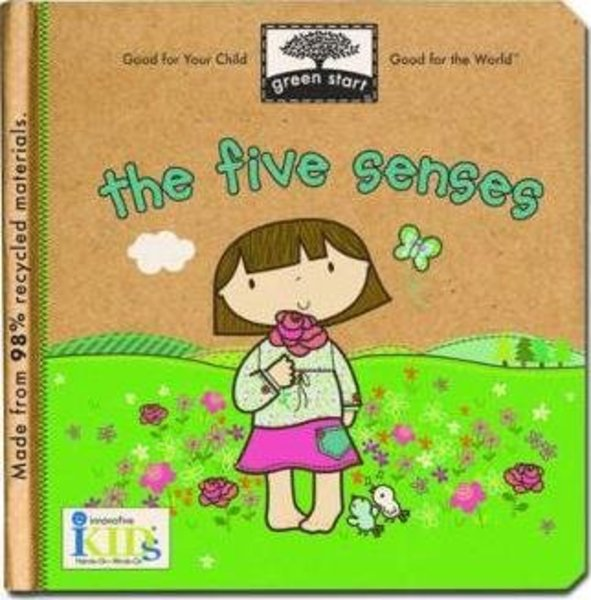 View larger image of Green Start - The Five Senses Board Book