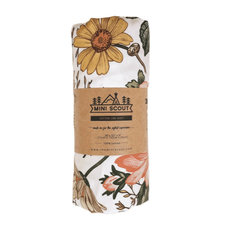 Crib Sheet - Garden Floral White