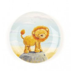 The Very Brave Lion Plate
