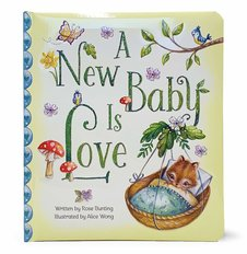 New Baby is Love Book