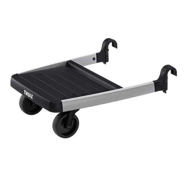View larger image of Sleek Glider Board - Black / Silver