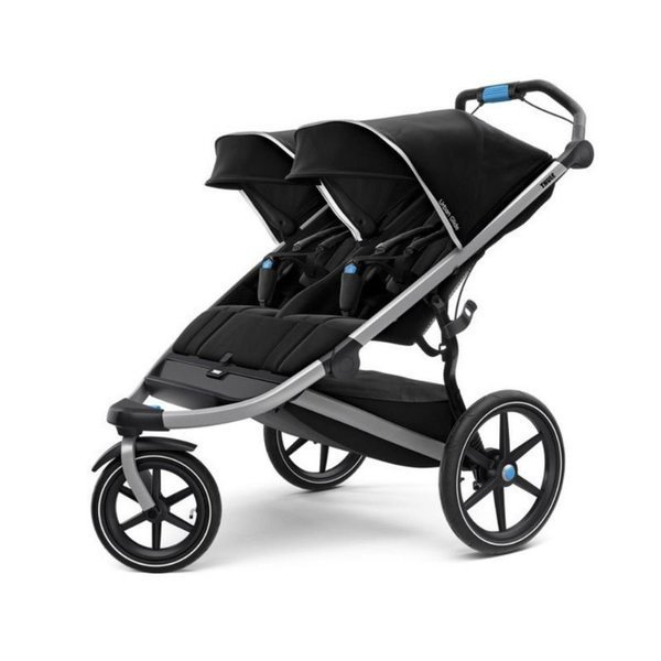 View larger image of Urban Glide 2 Double Stroller - Black