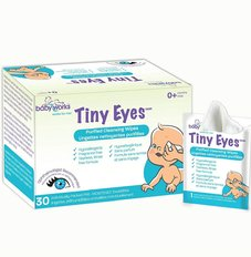 Tiny Eyes Cleansing Wipes - 30pk