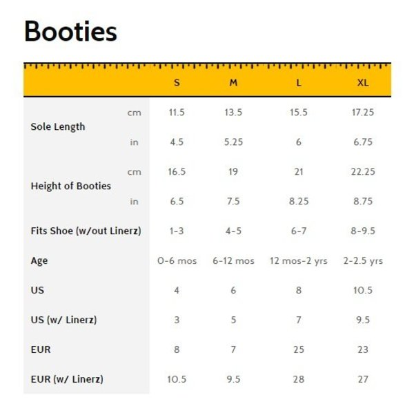 View larger image of Booties - Black
