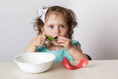 Toddler Spoon 2pk - Blueberry/Water