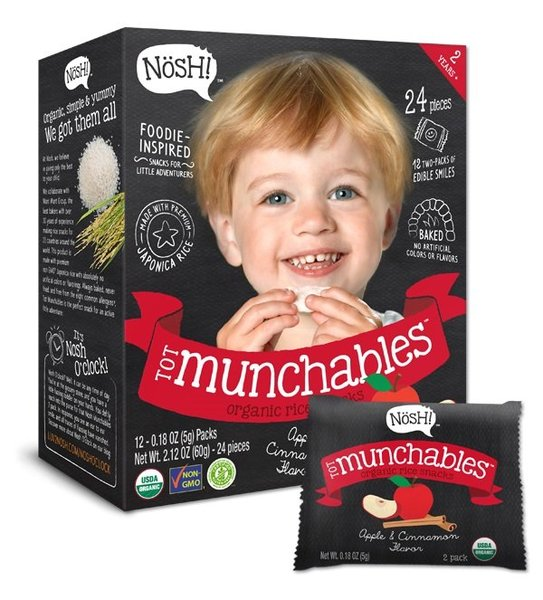 View larger image of Tot Munchables - Apple & Cinnamon