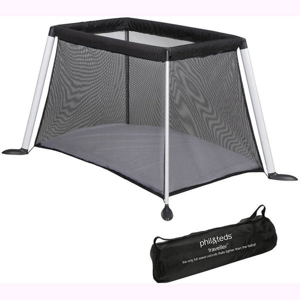 View larger image of Traveller V4 Portable Crib - Black