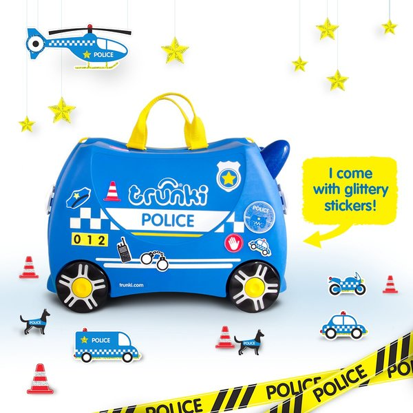 View larger image of Trunki - Percy the Police Car