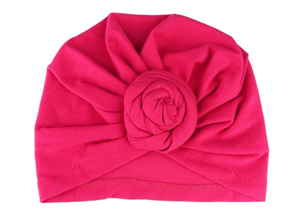 View larger image of Turban Knot Hat - Fuchsia