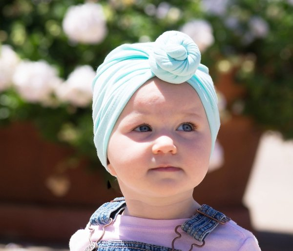 View larger image of Turban Knot Hat - Grey