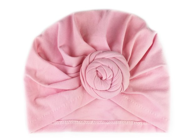 View larger image of Turban Knot Hat - Light Pink