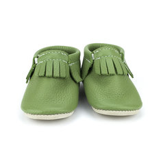 Turtle Green Moccasins