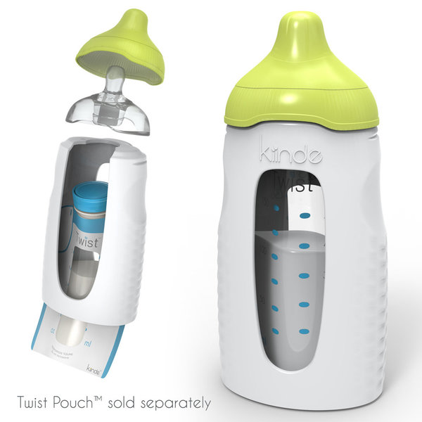 View larger image of Twist Squeeze Natural Feeding Bottle - 2 Pack