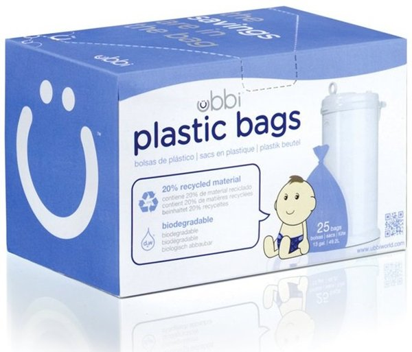 View larger image of Ubbi - Biodegradeable Bags 25p
