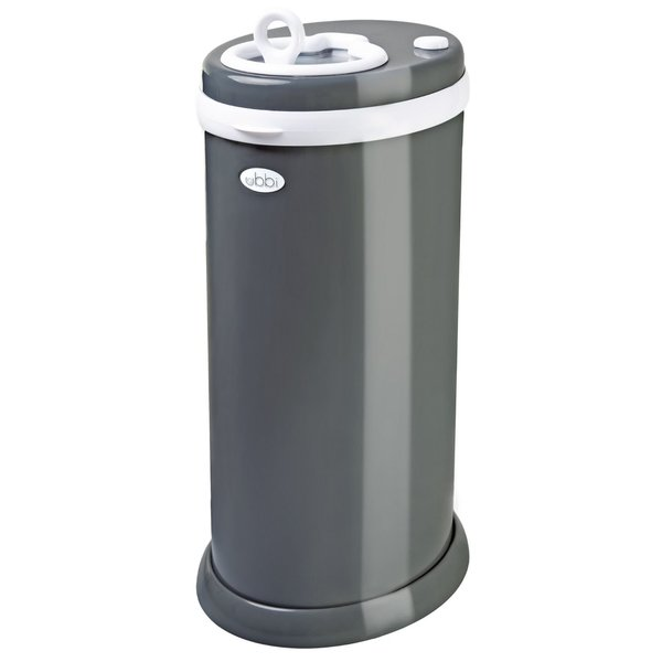 View larger image of Ubbi Diaper Pail - Slate