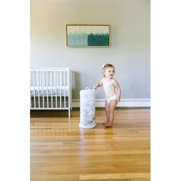 View larger image of Ubbi Diaper Pail - Marble