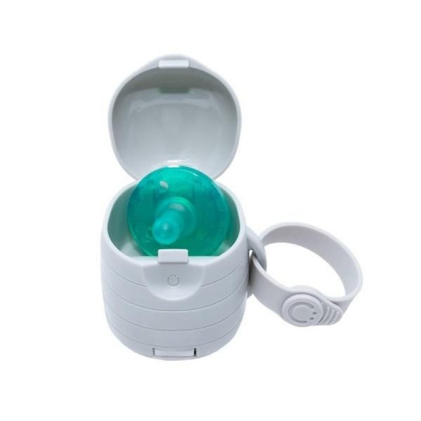 View larger image of On-the-go Grey Pacifier Holder