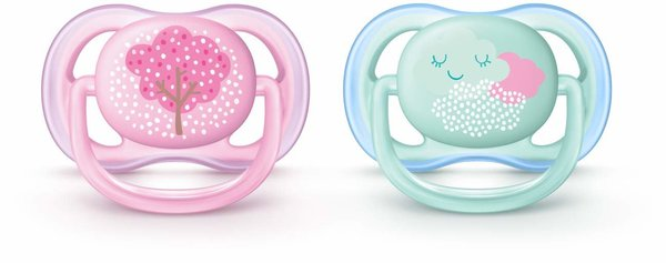 View larger image of Ultra Air Pacifier - Pink - 0-6 Months