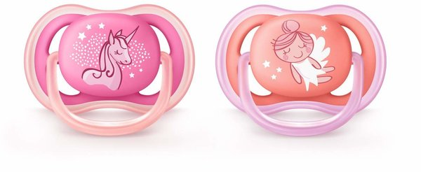 View larger image of Ultra Air Paci Contemp. 6-18m Pk/Peach