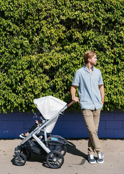 View larger image of V1 2019 VISTA Stroller - Bryce (White Marl)