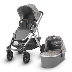 V1 2019 VISTA Stroller - Spenser (Grey & Yellow Tartan)