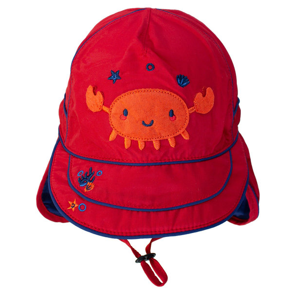 View larger image of UV Flap Hat - Racy Red