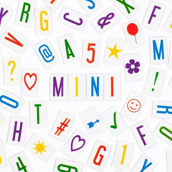 View larger image of Vibrant Letter Pack (Mini)